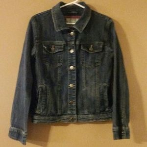 Mossimo supply blue jean jacket size XL 14-16